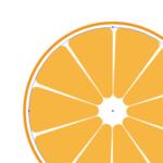 Illustratorのアピアランスを駆使して、たったひとつのオブジェクトでオレンジの断面を作る