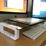 ペンタブとキーボードの共存のために、「キーボード収納ボード U-BOARD SMART」を導入しました。