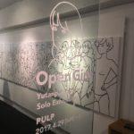 白根ゆたんぽ個展「Open Girls」オープニングレセプションに参加させていただきました。