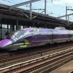 エヴァンゲリオン新幹線「500 TYPE EVA」こだま741号に遭遇!
