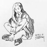 きょうのスケッチ 20171115 – from Instagram
