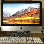 【iMac 21.5″ Late 2009】macOS High Sierraへのアップグレードは成功するも、クリーンインストールを断念。