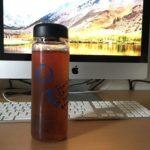 日々の水分摂取を意識するために、リユースボトルを導入してみた。