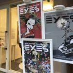 上田バロン個展「EYES」を観に行きました。熱いトークが胸に刺さりました!