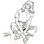 きょうのスケッチ 20190418 – from Instagram