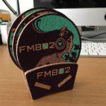 日産ファンキーフォトコンテストでFM802のコースターが当たった