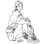 きょうのスケッチ 20191025 – from Instagram