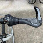 自転車用エルゴグリップで手首への負担を軽減する